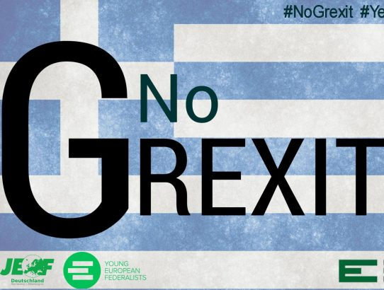 No to Grexit — Yes to a real economic and political union