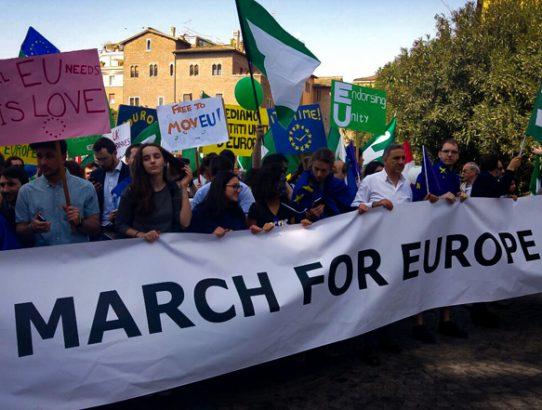 Wir waren in Rom beim #marchforeurope