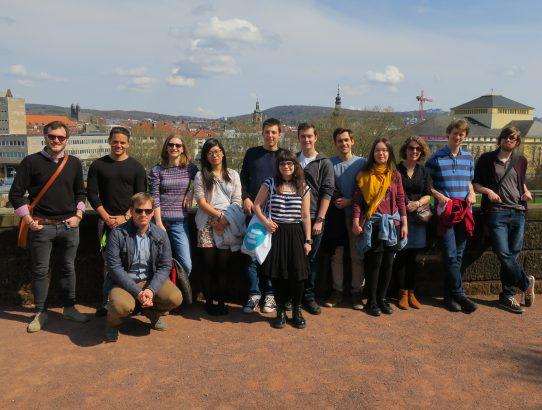 Besuch der Jeunes Européens Reims in Saarbrücken